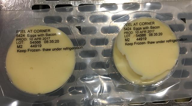 Date coding eggs